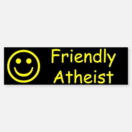 Friendly Atheist Sticker (Bumper)