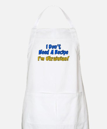 Dont Need A Recipe Ukrainian Apron