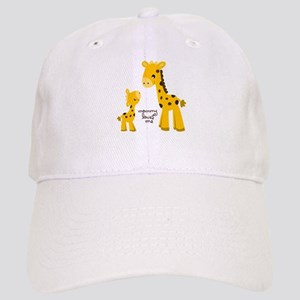 Mother and child Giraffe Cap