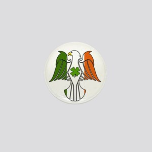 Irish American Eagle (sc) Mini Button