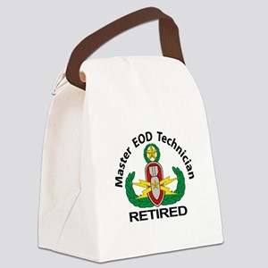 Retired Master EOD Canvas Lunch Bag