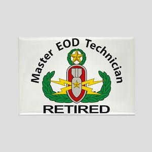 Retired Master EOD Rectangle Magnet