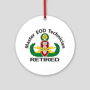Retired Master EOD Ornament (Round)
