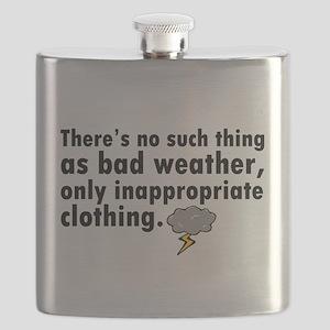 'Bad Weather' Flask