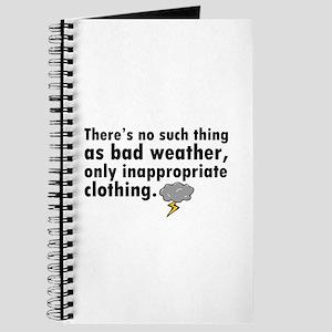 'Bad Weather' Journal