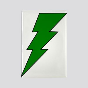 The Green Lightning Shop Rectangle Magnet