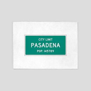 Pasadena, Texas City Limits 5'x7'Area Rug