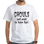 Halloween T-shirt! GHOULS just want to have fun!