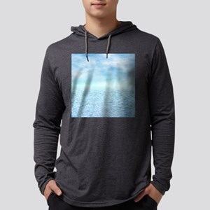 Sea of Serenity Mens Hooded Shirt