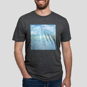 Sea of Serenity Mens Tri-blend T-Shirt