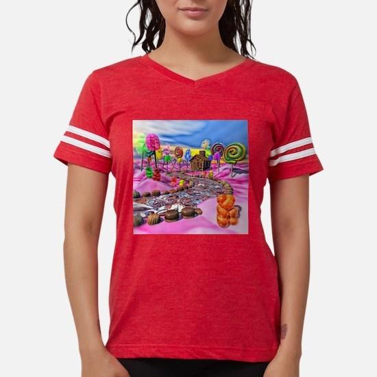 Pink Candyland Womens Football Shirt