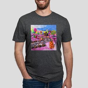 Pink Candyland Mens Tri-blend T-Shirt