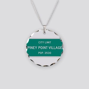 Piney Point Village, Texas City Limits Necklace