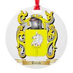 Balak Round Ornament