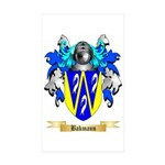 Bakmann Sticker (Rectangle 50 pk)