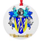 Bakker Round Ornament