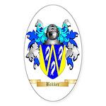 Bakker Sticker (Oval 10 pk)