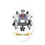 Bakhrushin Oval Car Magnet
