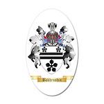 Bakhrushin 35x21 Oval Wall Decal