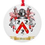 Bajo Round Ornament