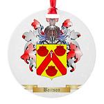 Baitson Round Ornament