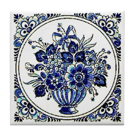 Dutch Blue Tile Coaster