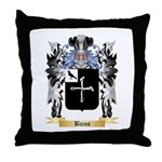 Bains Throw Pillow