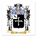 Baines Square Car Magnet 3
