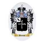 Baines Ornament (Oval)