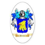 Baine Sticker (Oval 10 pk)