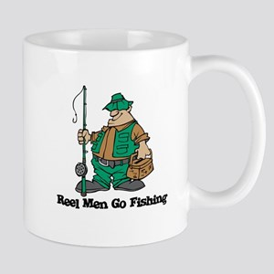 Reel Men Go Fishing Mug