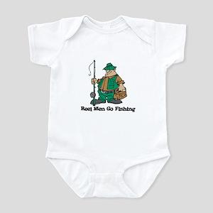 Reel Men Go Fishing Infant Bodysuit