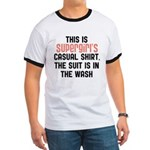 Supergirls casual shirt Ringer T