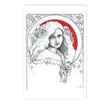 Alice Nouveau Postcards (Package of 8)