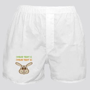 PERSONALIZE Easter Bunny Boxer Shorts