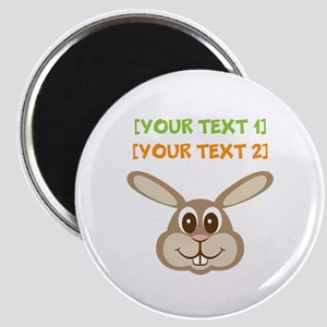 PERSONALIZE Easter Bunny Magnet
