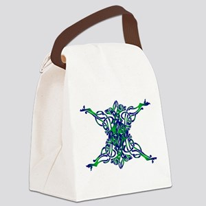 St. Patrick's Breastplate Canvas Lunch Bag