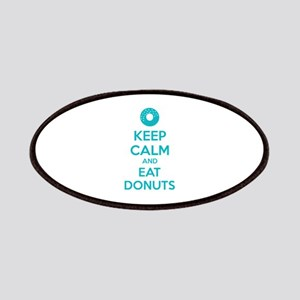 Keep calm and eat donuts Patches