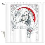 Alice Nouveau Shower Curtain