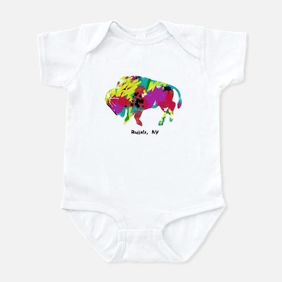 Artsy Buffalo Infant Bodysuit