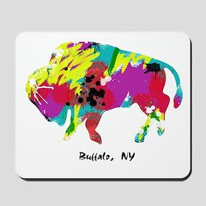 Artsy Buffalo Mousepad