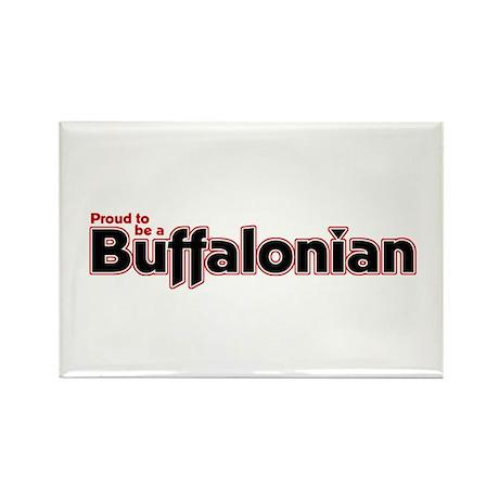 Proud to be a Buffalonian Rectangle Magnet