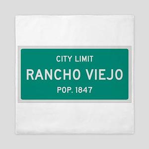 Rancho Viejo, Texas City Limits Queen Duvet