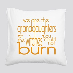 Granddaughters Square Canvas Pillow