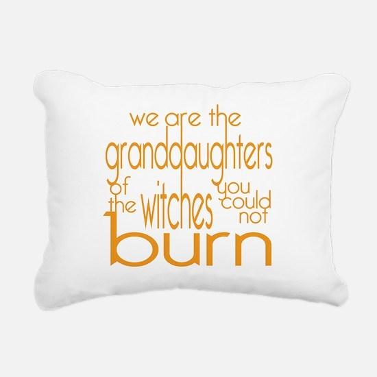 Granddaughters Rectangular Canvas Pillow