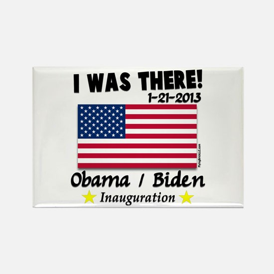 I Was There Obama Biden Rectangle Magnet (10 pack)