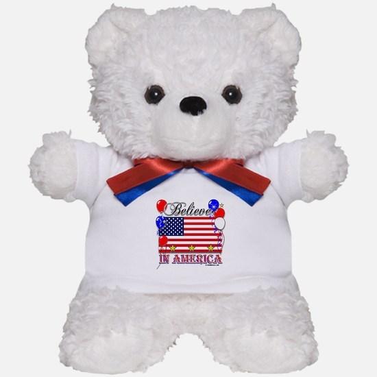 Believe in America Teddy Bear