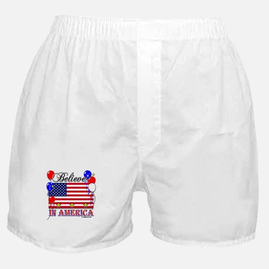 Believe in America Boxer Shorts