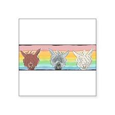 Alpaca Luv Trio Sticker