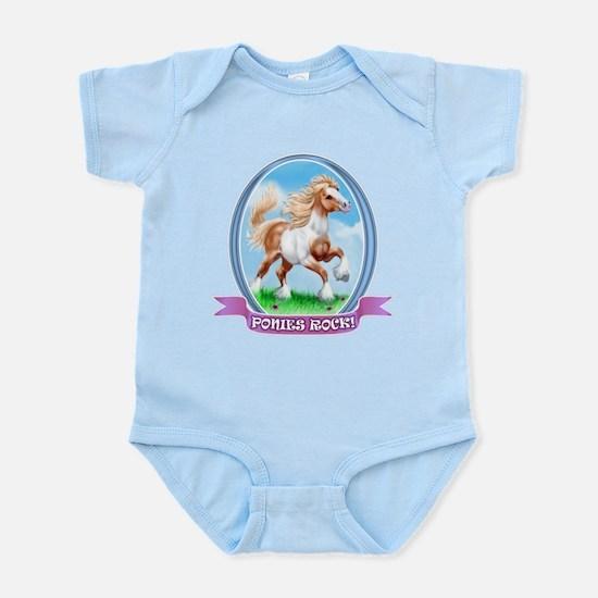 Ponies Rock Infant Bodysuit